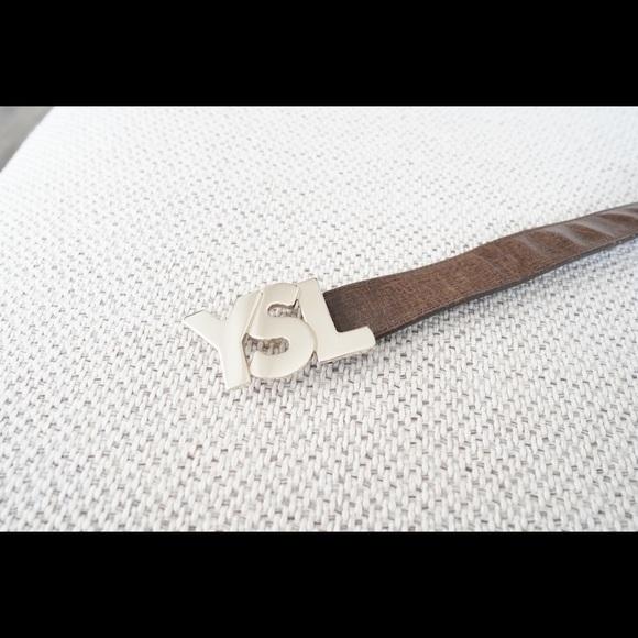 Yves Saint Laurent Other - Yves Saint Laurent Logo Belt